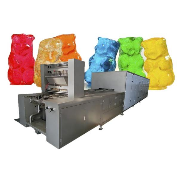 Hot sale Jelly gummy candy depositing line