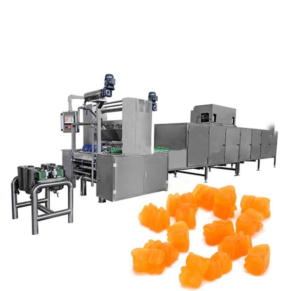 full automatic gummy bear/chew candy production line factory price with ce