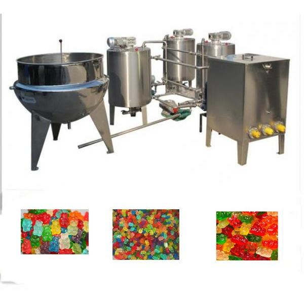 Sticky Jelly Candy Automatic Weighing Packing Machinery