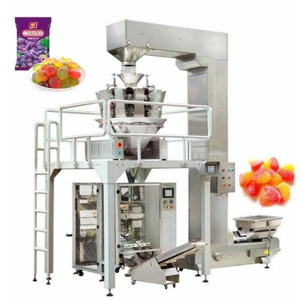 Automatic gummy bear candy product making maker machine line