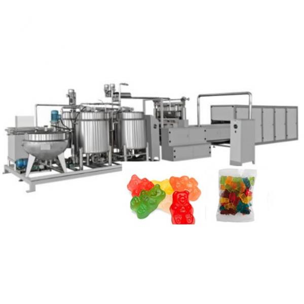 Jelly Gummy Candy Bean Making Machine Depositing Production Line